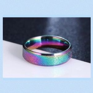 💰4/$20💰 Iridescent Stainless Steel Band